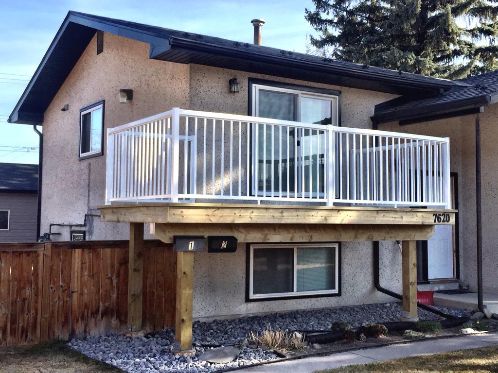 Deck Construction Calgary Landscaping Company Assiniboine