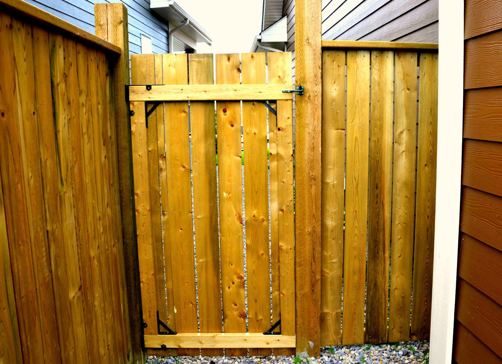 Gates - pressure treated gate