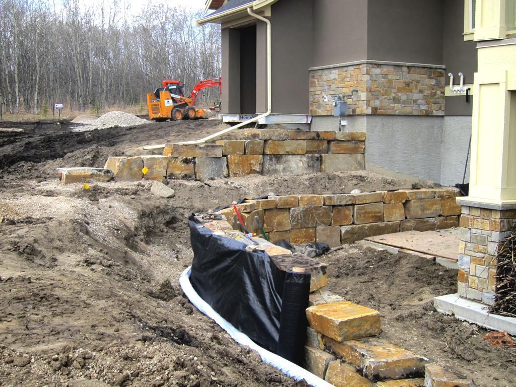 Block Retaining Wall Lights