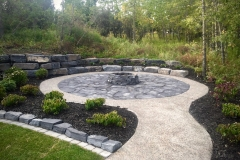 mow-brick-rundle-border-aggregate-pathway-rundle-patio-firepit