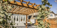 Custom-Cedar-Pergola-Modern-Brick-Flagstone-Patio-4