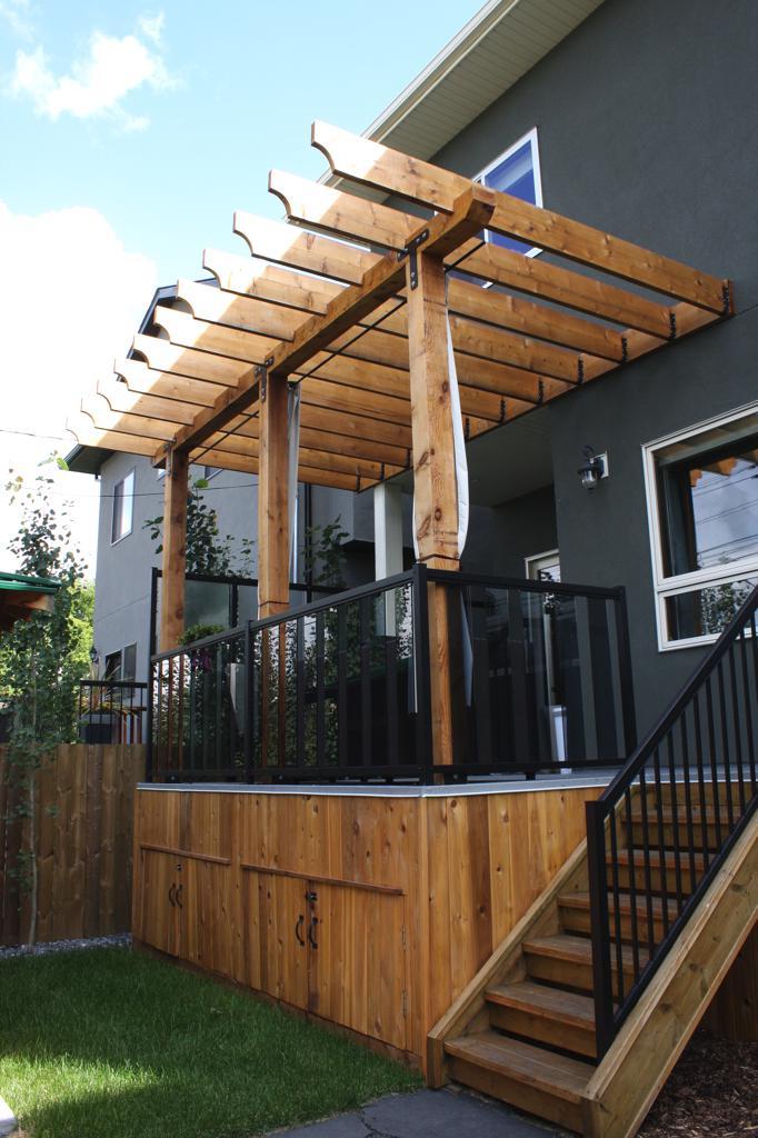 Small Deck With Pergola