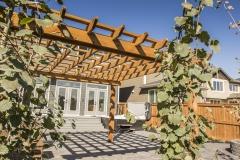 Custom-Cedar-Pergola-Modern-Brick-Flagstone-Patio-4